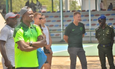 Coach Rotimi Akinloye lauds Canice Abua's tenacity after youngster's J5 Abuja title-triumph