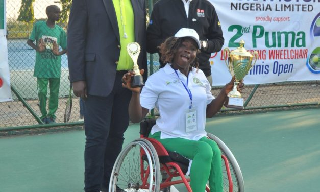 Chituru Nwaozuzu, Wasiu Yusuf emerge PUMA Wheelchair Open champions