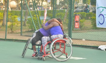 PUMA Wheelchair Open: Friday's best photos