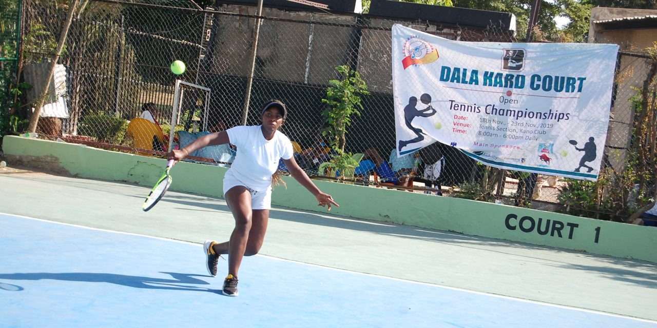 Dala Hard Court: Tuesday in pictures
