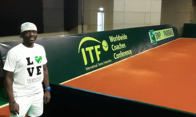 Coach Sebiomo stresses the importance of tennis development in Nigeria after Worldwide Coaches Conference