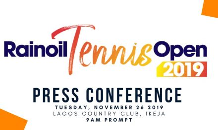 Press conference for 2019 Rainoil Open to hold on Tuesday