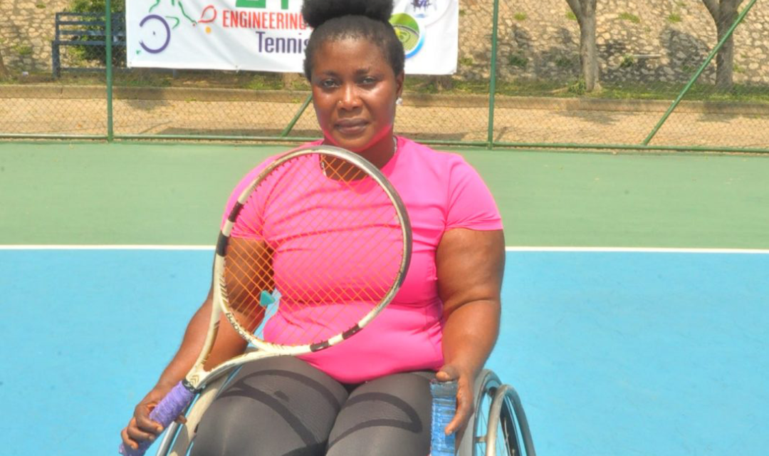 Defending champion, Kafayat Omisore advances to PUMA Wheelchair Open final