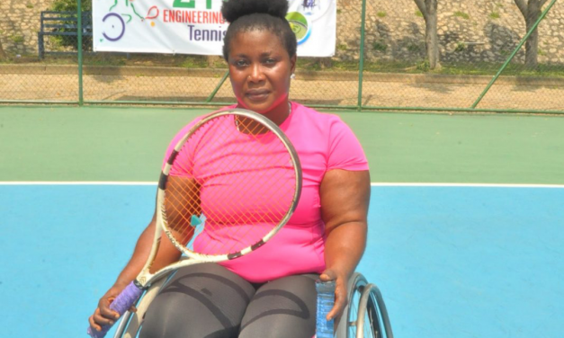 Defending champion, Kafayat Omisore advances to PUMA Wheelchair Open final