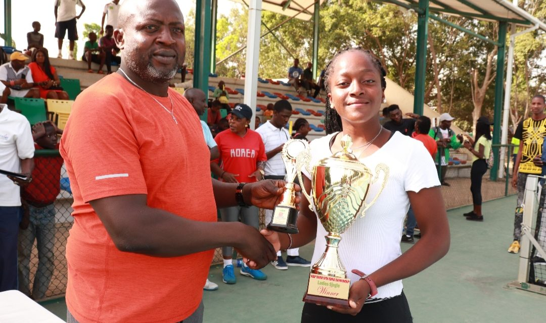 Oyinlomo Quadre powers past Agugbom to clinch Vemp Open title