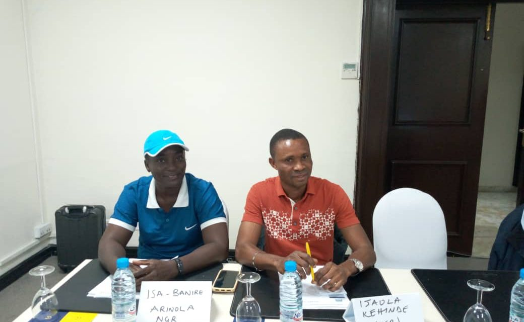 Officiating manager's workshop in Tunisia an eye opener, Nigerian white badge official says