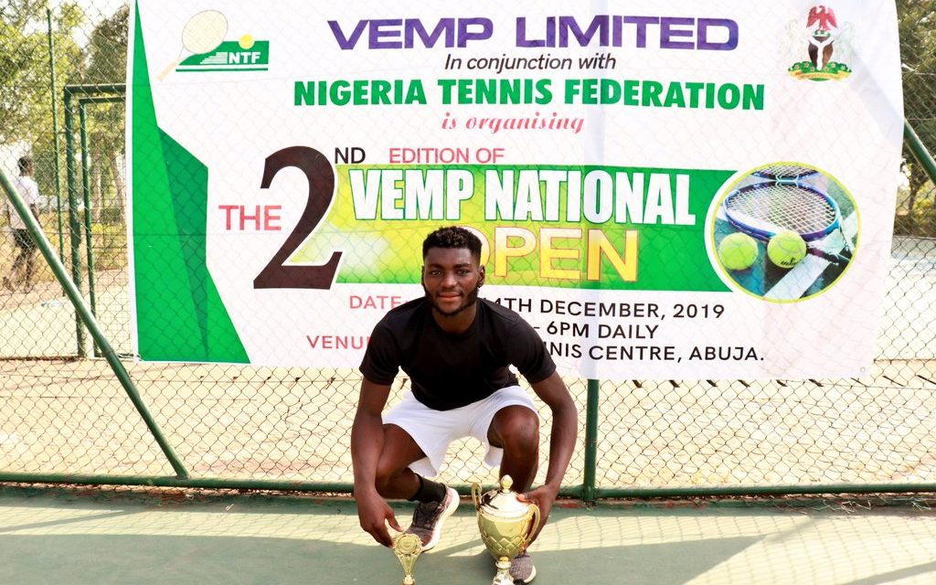 Sylvester Emmanuel claims Vemp Open men's singles title