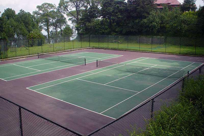 NICON Luxury Abuja tennis court