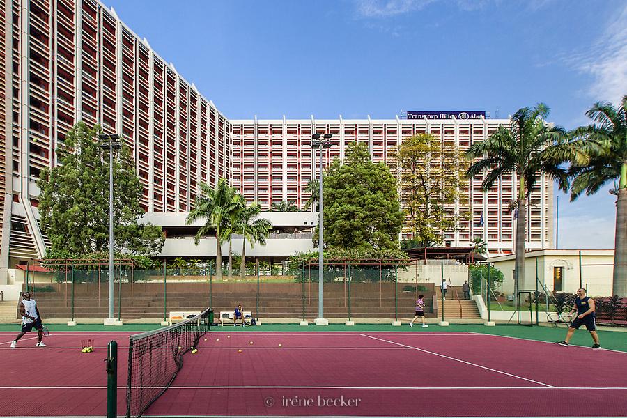 Transcorp Tennis Court