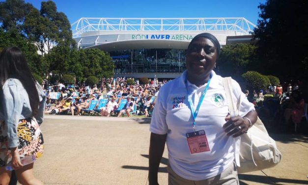 Pictures from Aisha Hirse's officiating duty in Australia so far