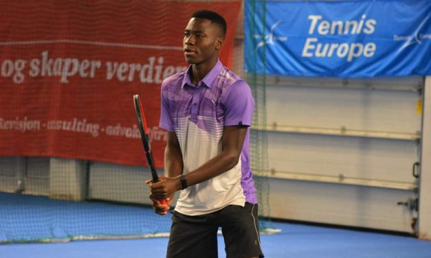 Philips, Jebutu in action at ITF Copenhagen