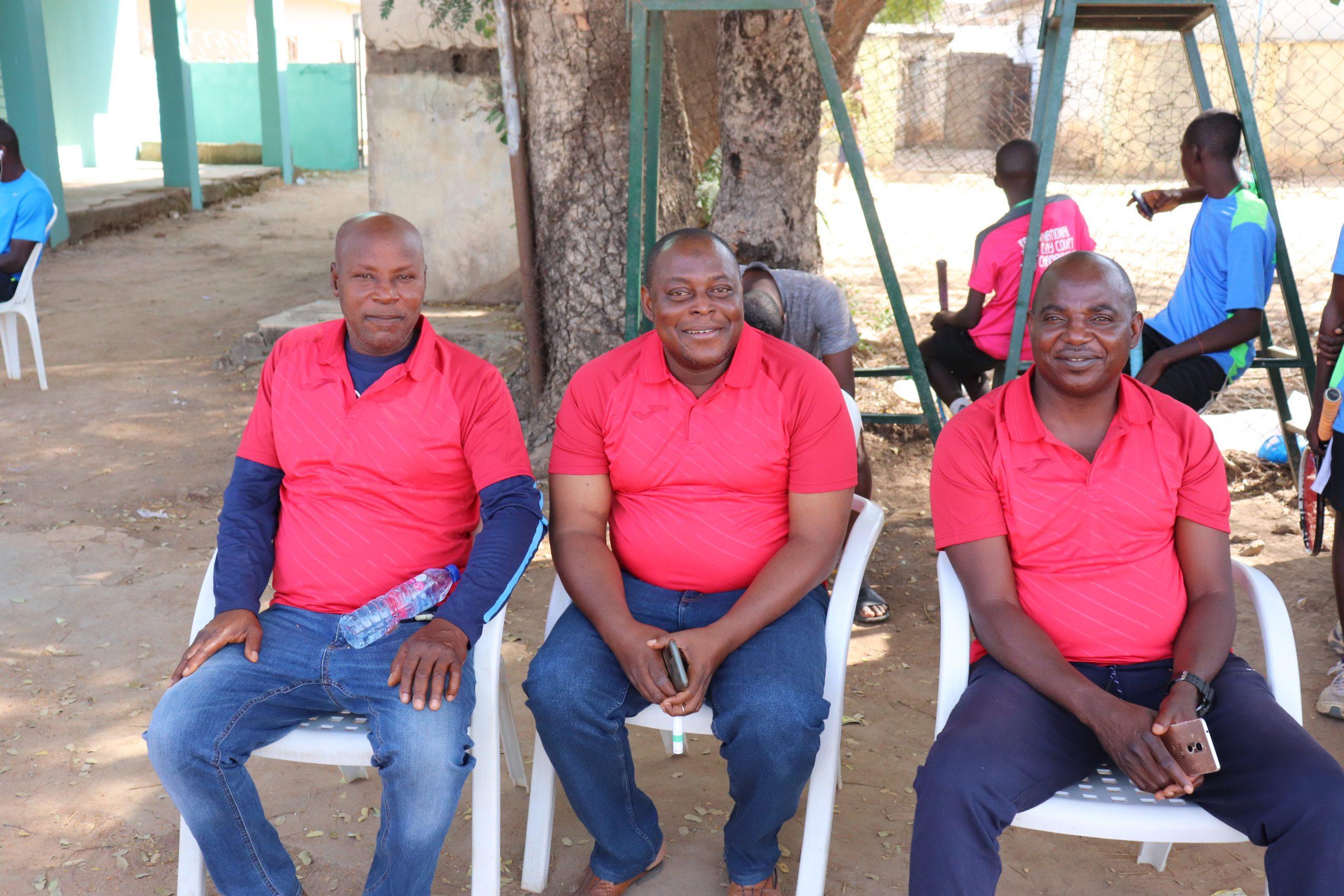 Dignitaries Watching the Kaduna Clay Court scaled