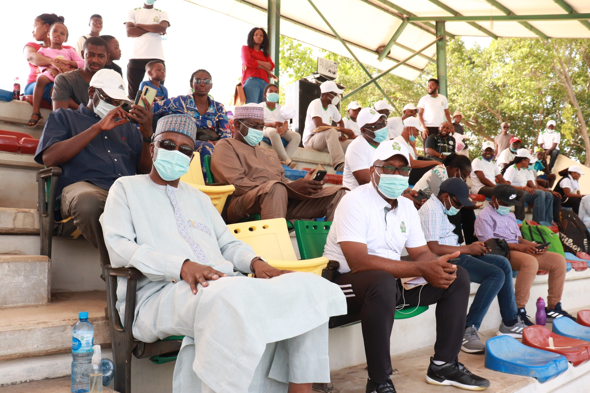Dignitaries during the Finals