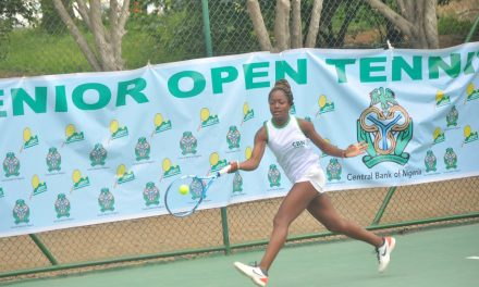 CBN Senior Open: Oyinlomo Quadre Defeats Sarah Adegoke, Set to Clash with Marylove Edwards