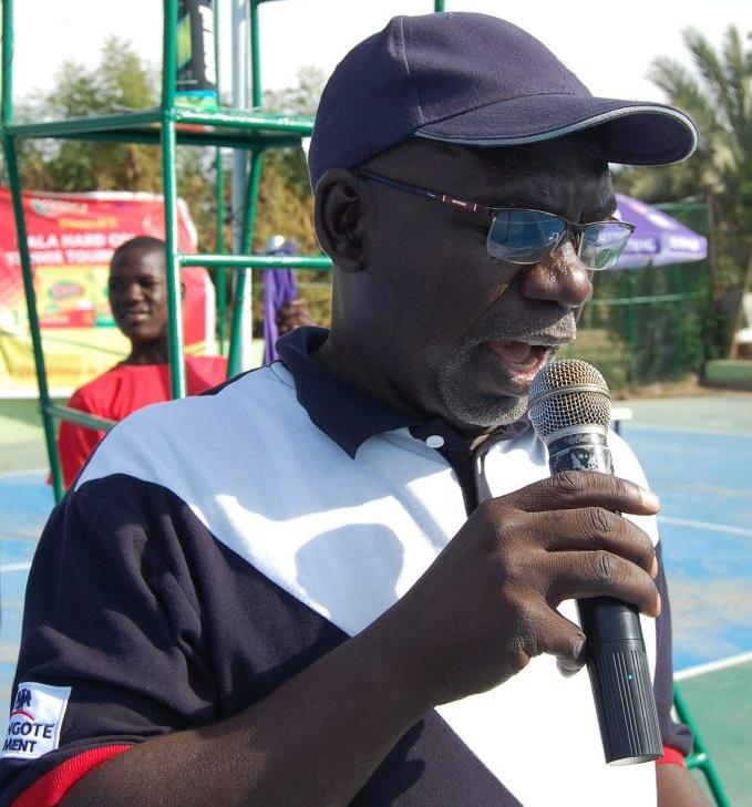 Tournament Director Yusuf Datti