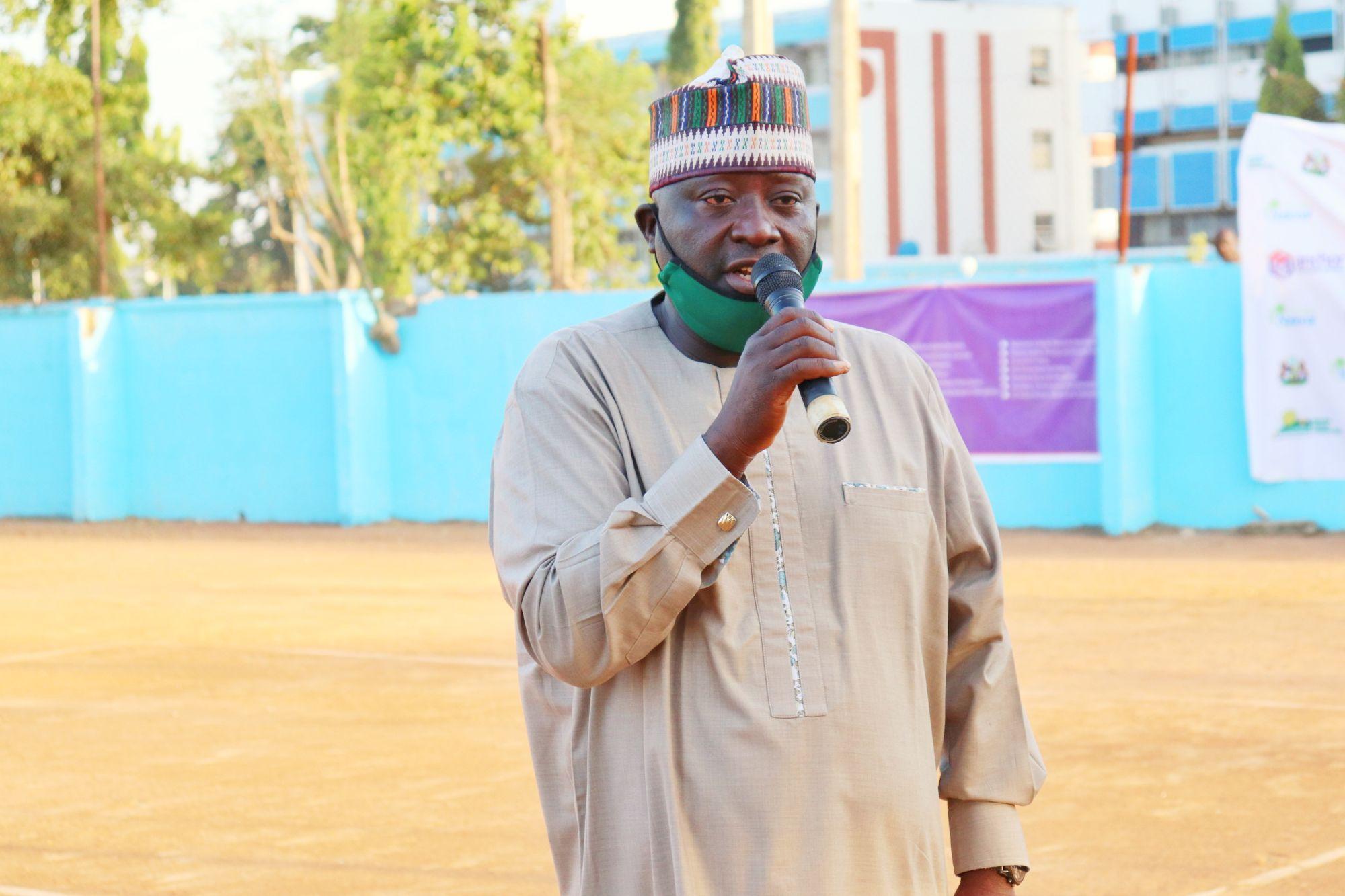 Chairman Kaduna State Tennis Association Joel Adi