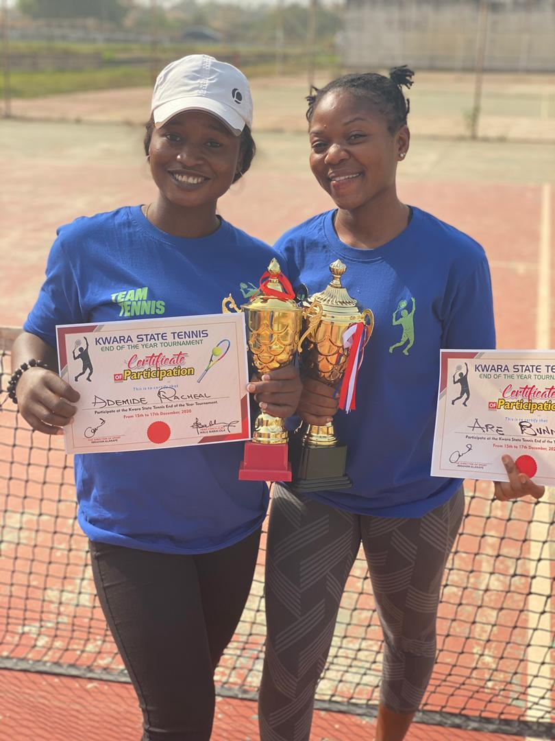 Rachael Adunoye and Bunmi Are