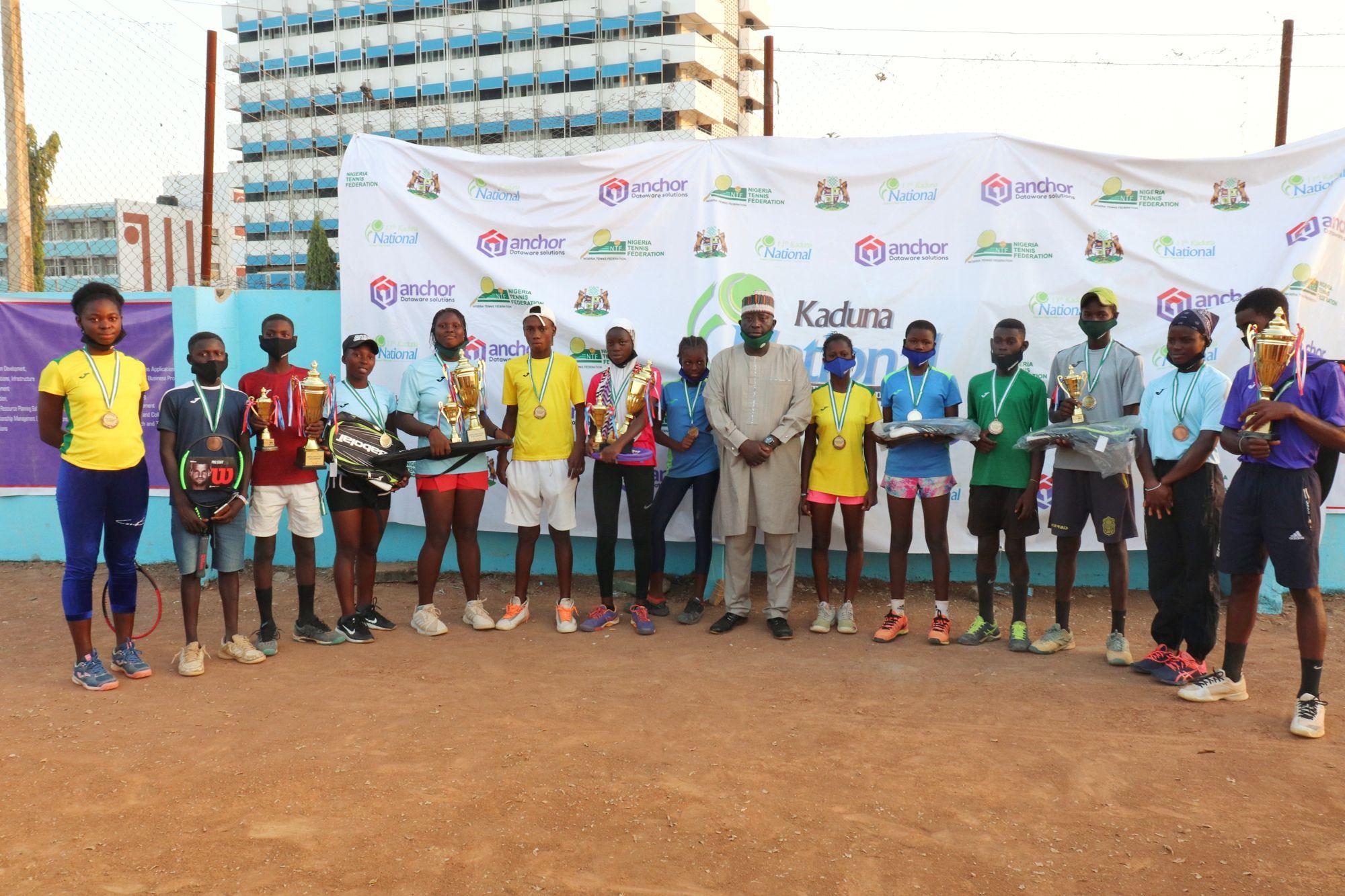 Winners alongside Sponsor